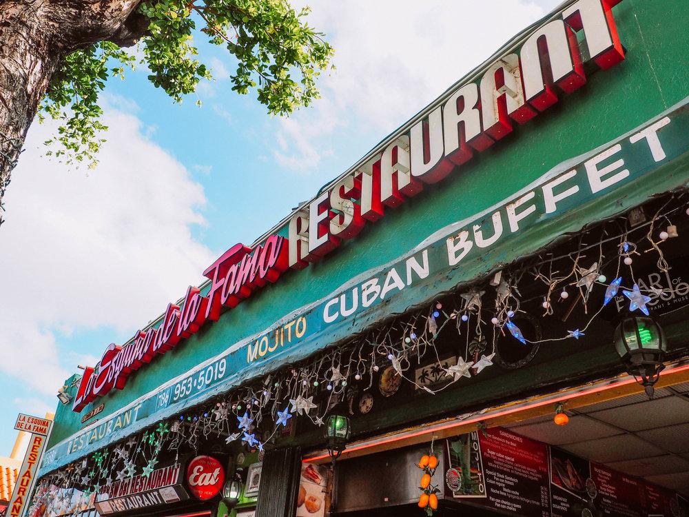 La Esquina De La Fama , Little Havana, Miami, FL.