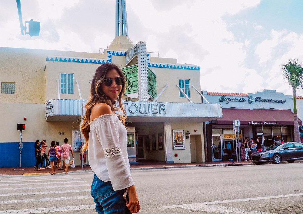 Tower Theatre in Little Havana