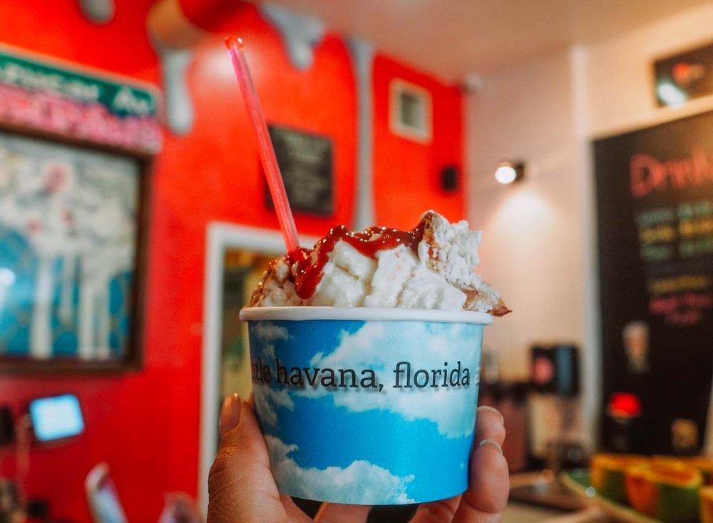 """""""Abuela Maria"""" Ice Cream, Azucar Ice Cream Company, Little Havana, Miami, FL."""