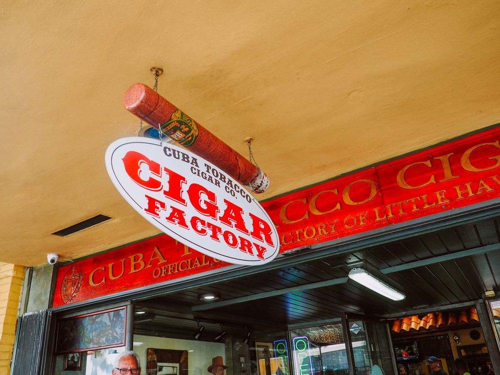 Cuba Tobacco Cigar Co., Little Havana, Miami, FL.