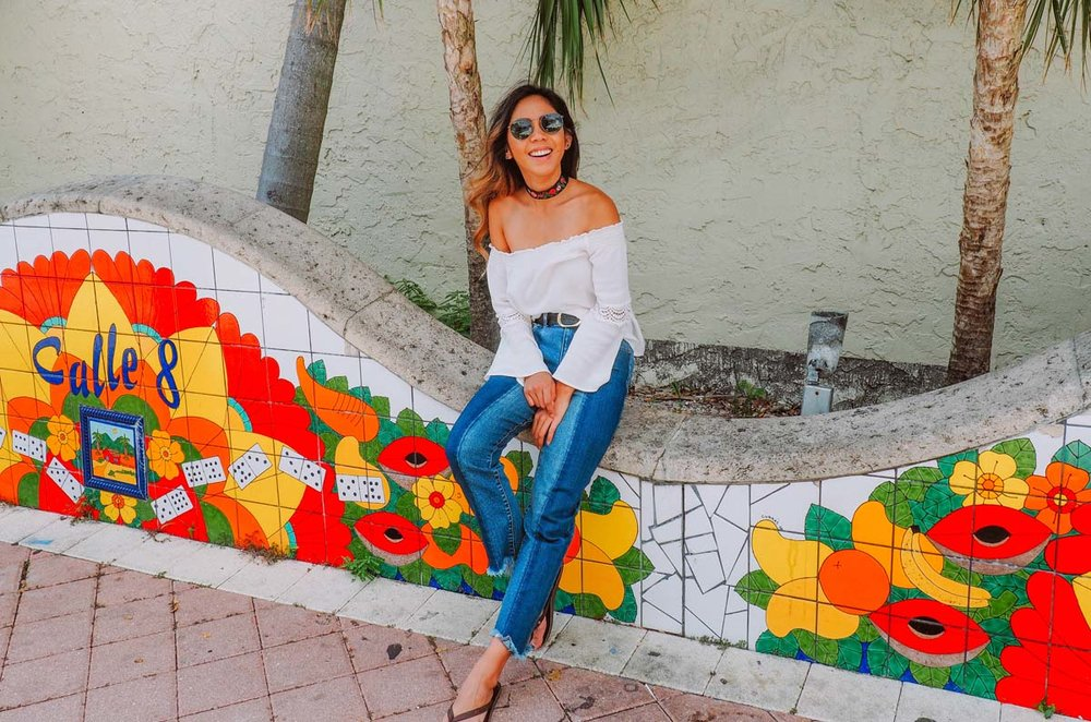 Calle Ocho, Little Havana, Miami, FL.