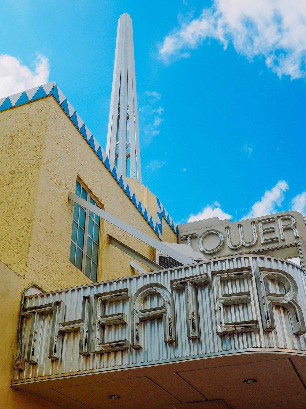 Tower Theater, Little Havana, Miami, FL.