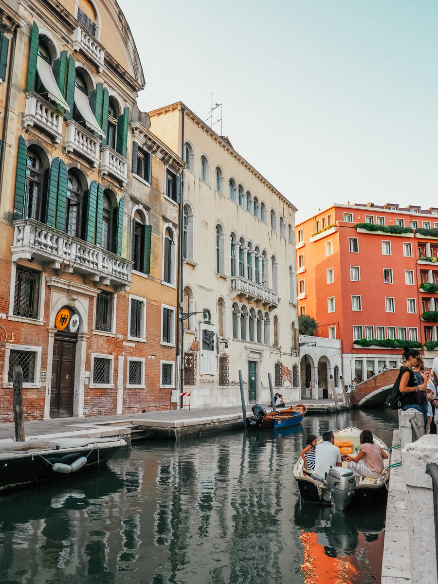 streets of Venice italy when she roams by margareth