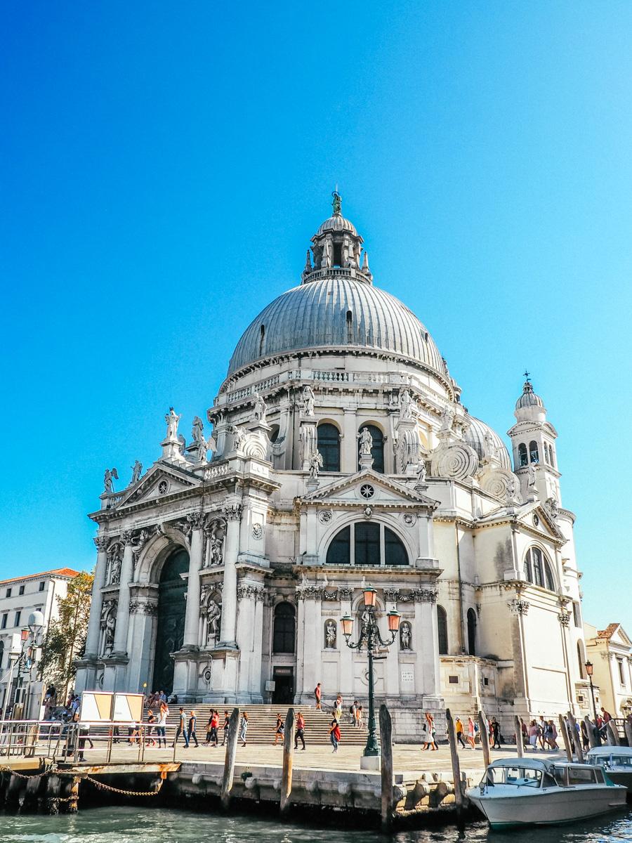 Basilica di Santa Maria della Salute, Venice, Italy 2018