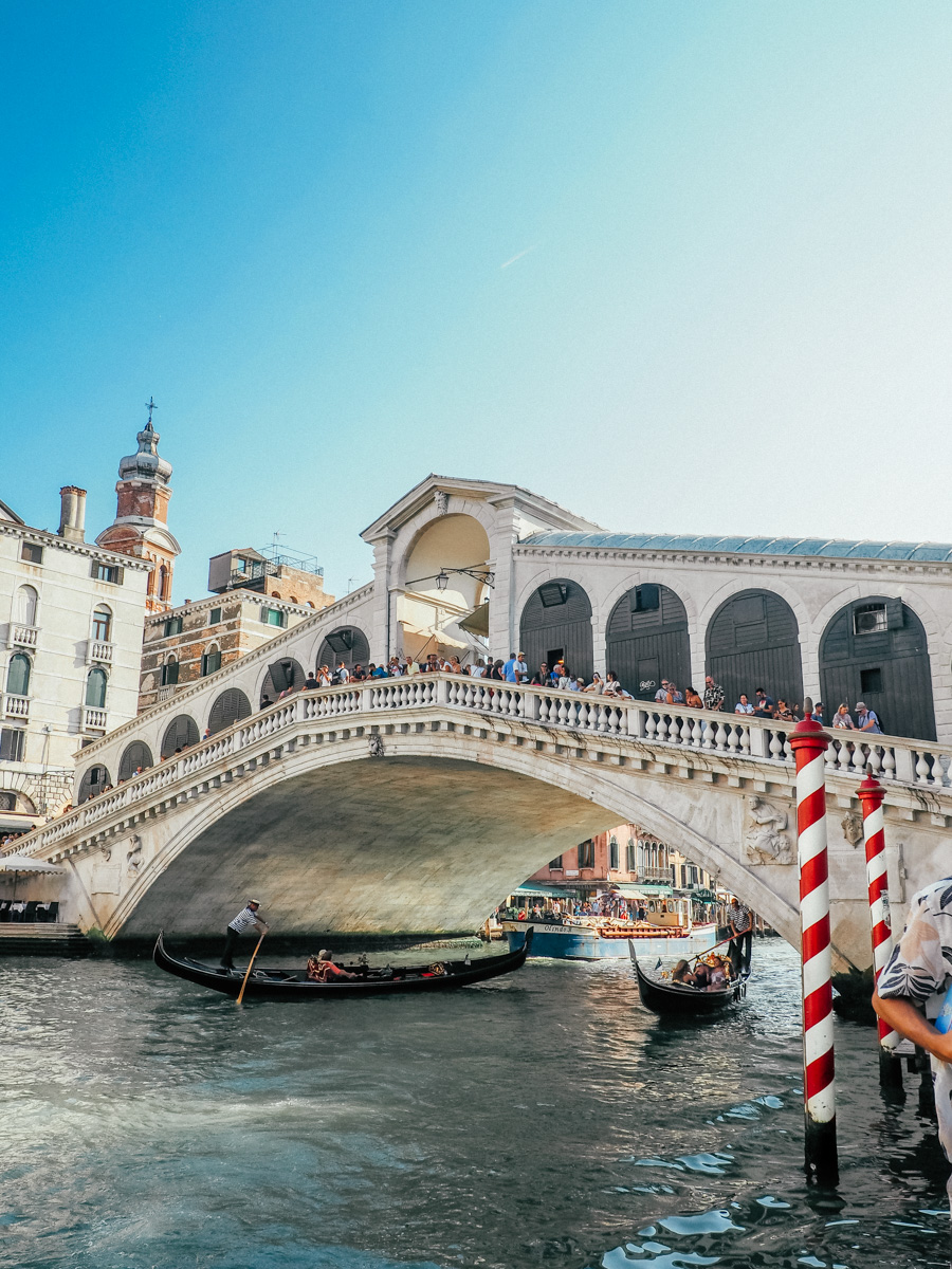 Rialto Bridge, Venice, Italy, 2018