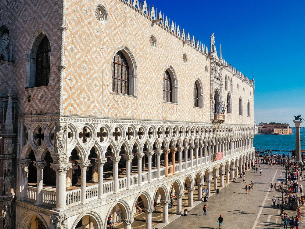 Doge's Palace, Venice, Italy, 2018
