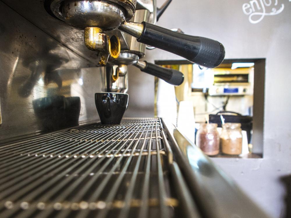 Best coffee in Freycinet
