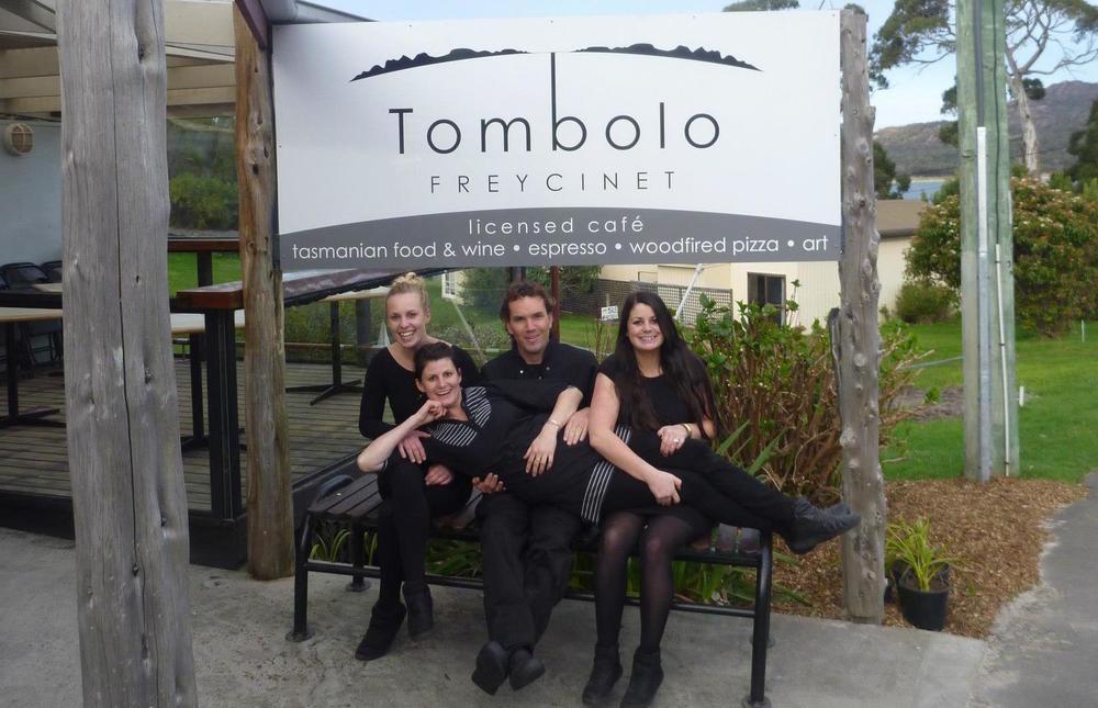 Tombolo Freycinet opening day way back when!