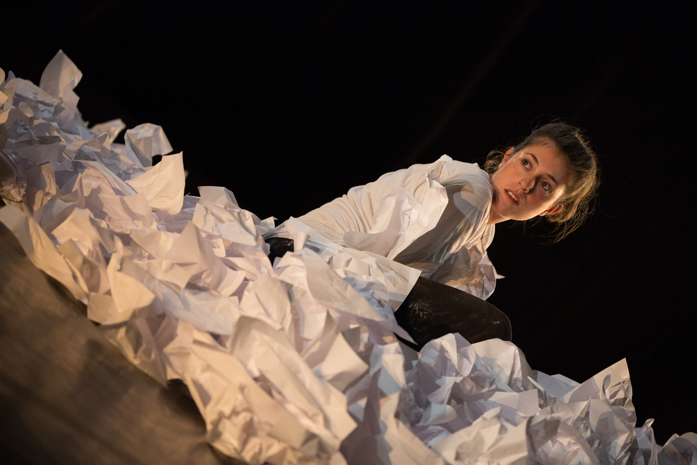 Dancer: Marta Masiero. Photo: Sid Scott.