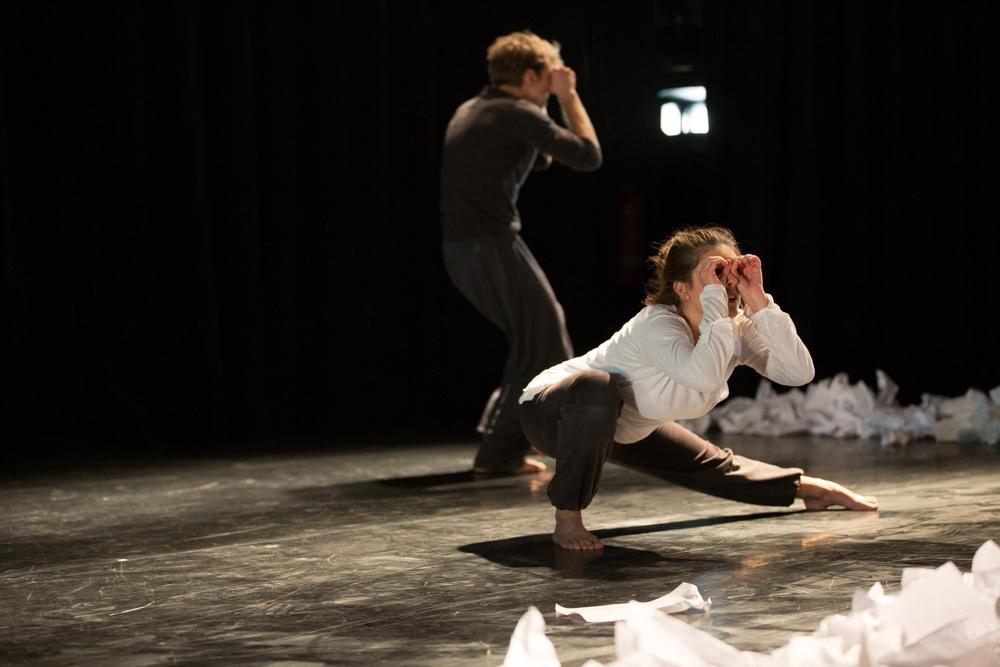 Dancers: Romain Guion &Marta Masiero. Photo: Sid Scott.