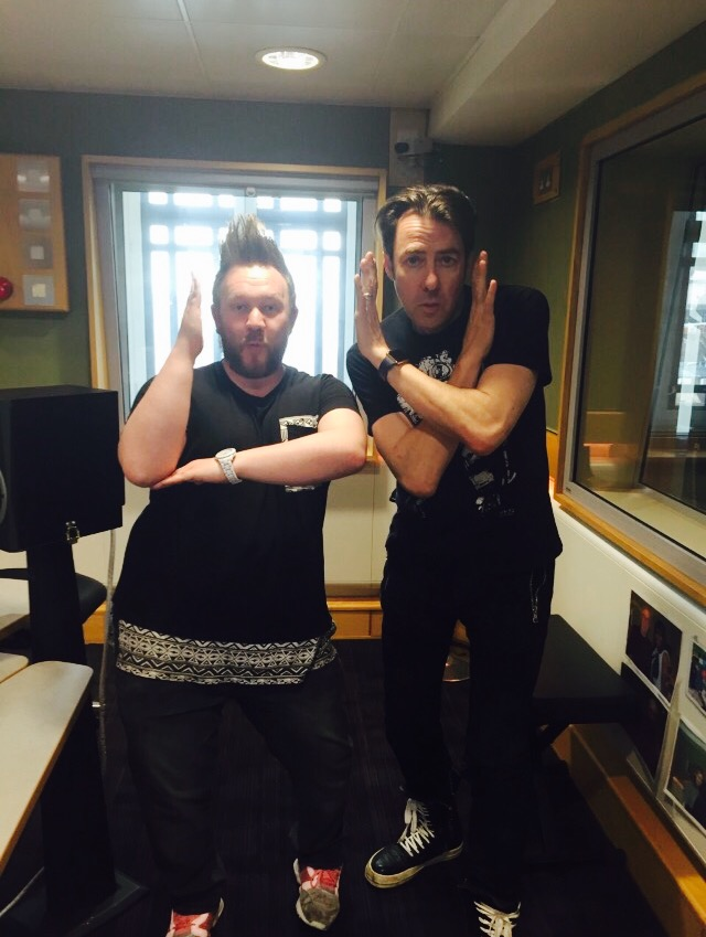 Tommy launching Shakespeare Shuffle on the Jonathan Ross Arts Show on BBC Radio 2