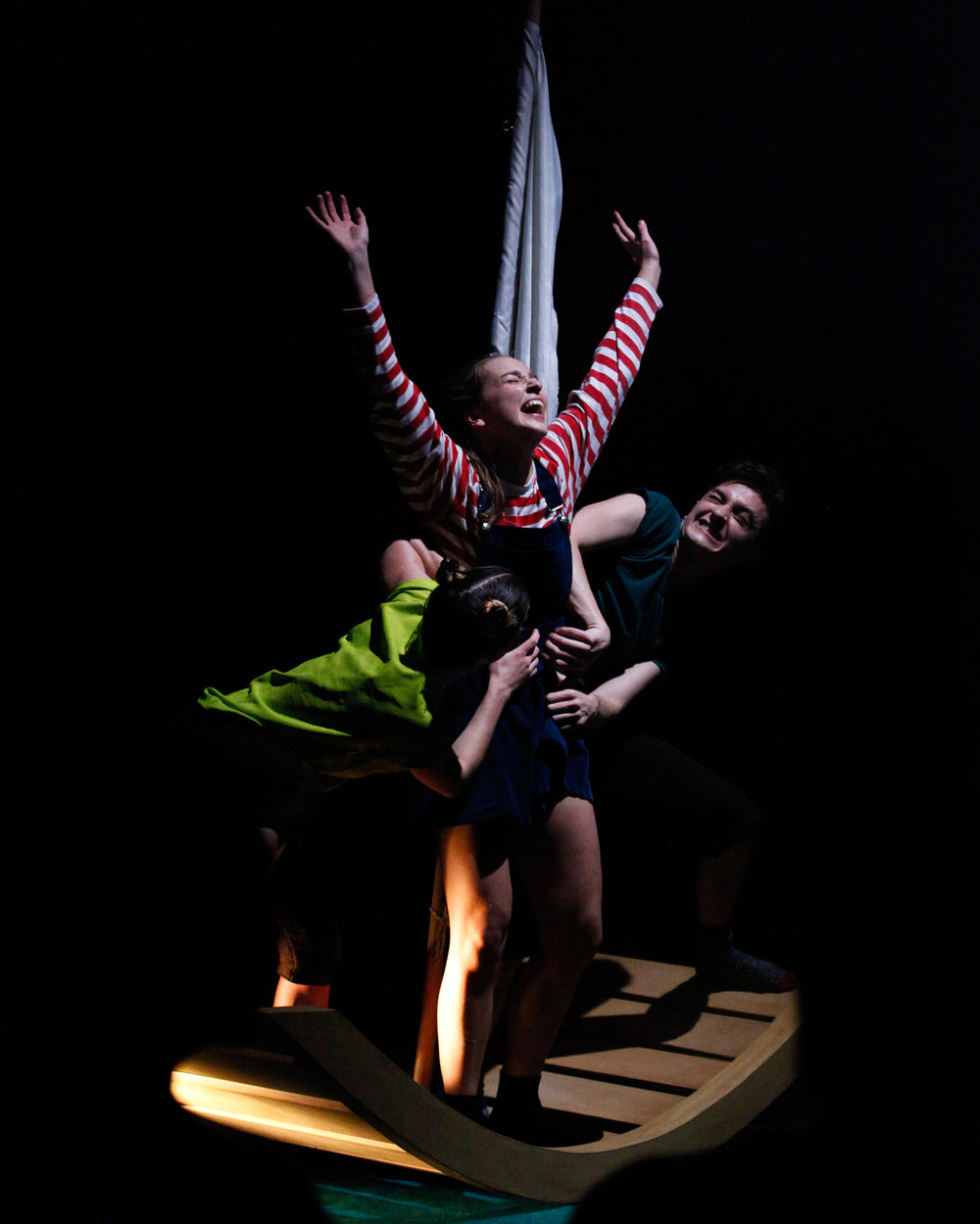 Photo: Jordan Anderson.  Dancers: Ellen Cobbaert, Laurel Dalley Smith & Josh Hawkins.