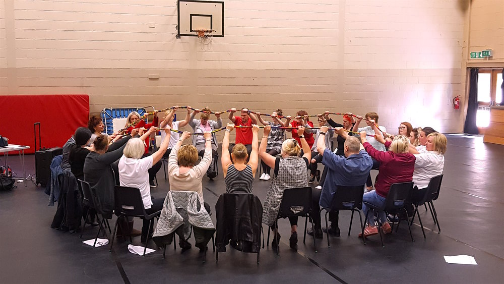 Some of the participants in a recent LOVE/LIFE session in Fife.