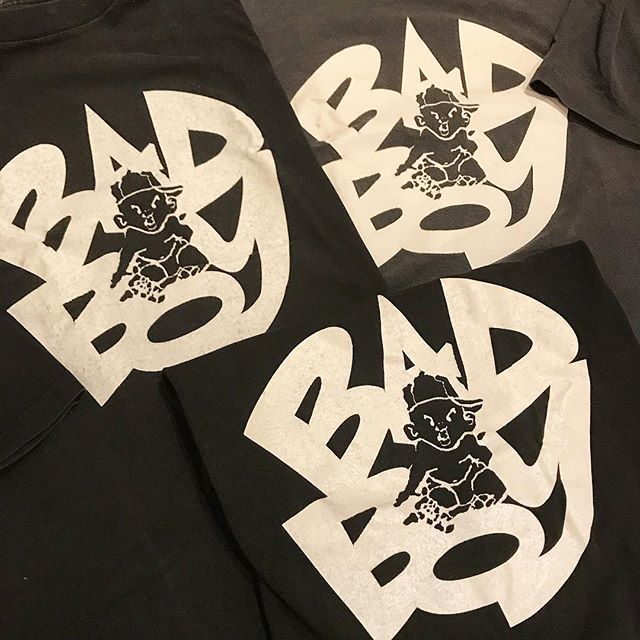 Mid 90s Bad Boy Entertainment promos #RapTees