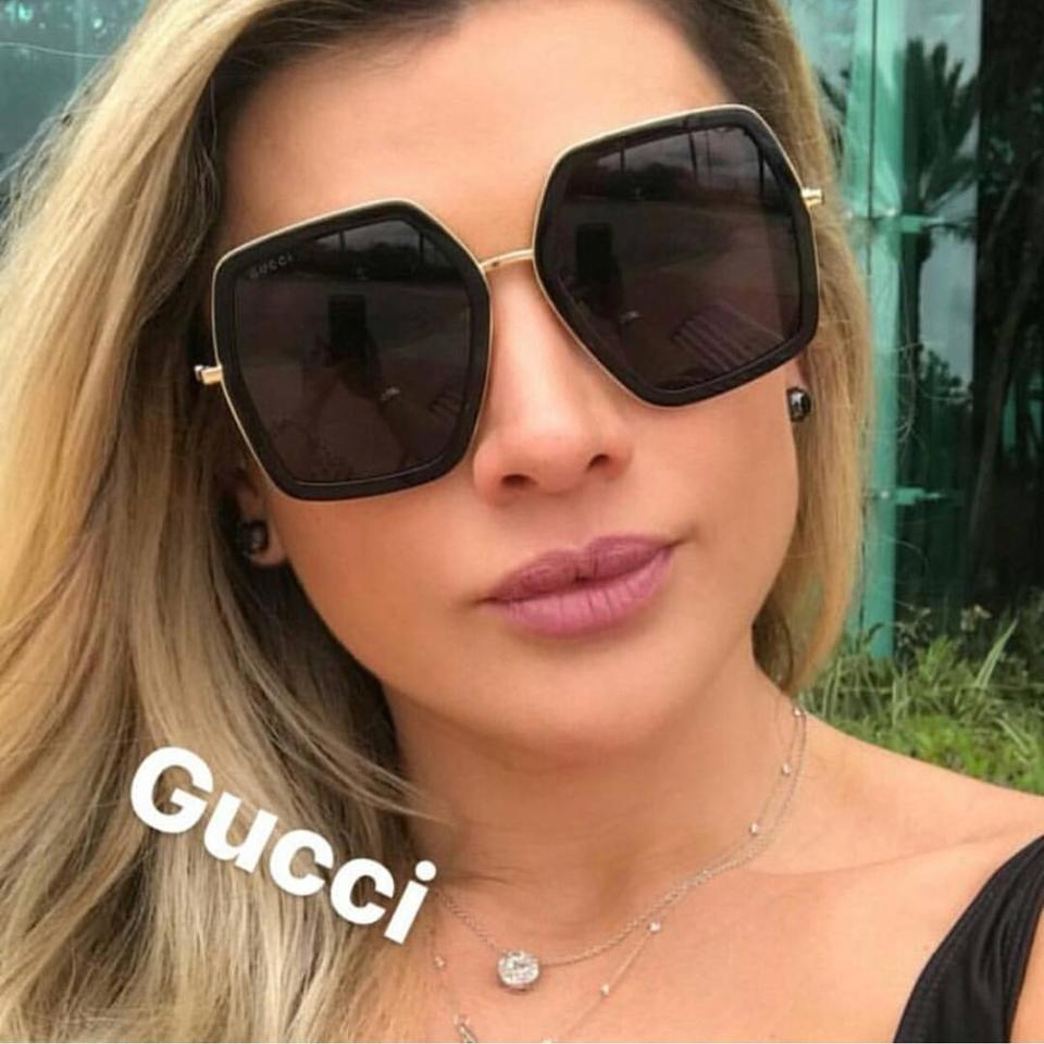 ce01773059c Gucci 0106S Oversized Geometric Sunglasses (3 Colors) — Designer ...