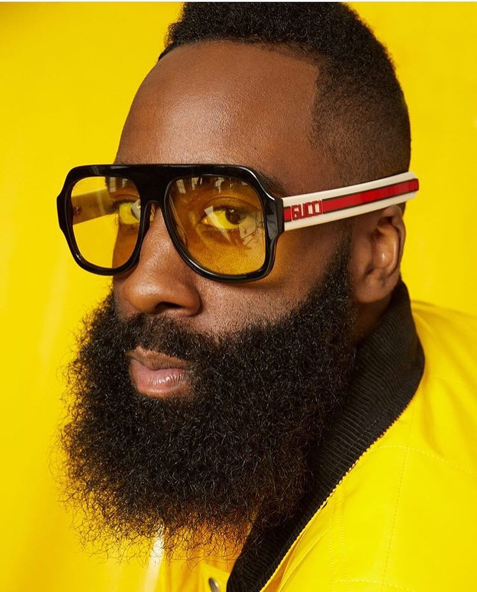 65749a0e361 Gucci 0255S Black Thick Glitter Leg Oversized Eyeglasses Frames — Designer  Daydream