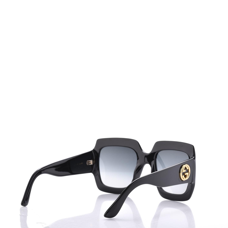 b806e2ea49 Gucci 0053S Oversized Square Sunglasses (2 Colors) — Designer Daydream