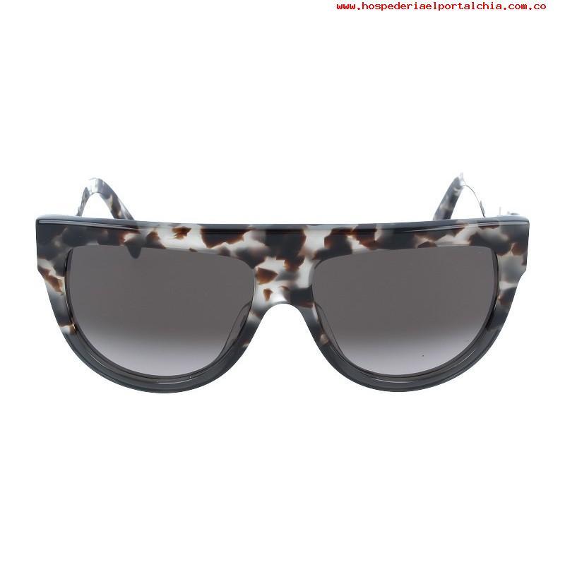 a4c5cca790a Celine Shadow Sunglasses in Grey Tortoise — Designer Daydream