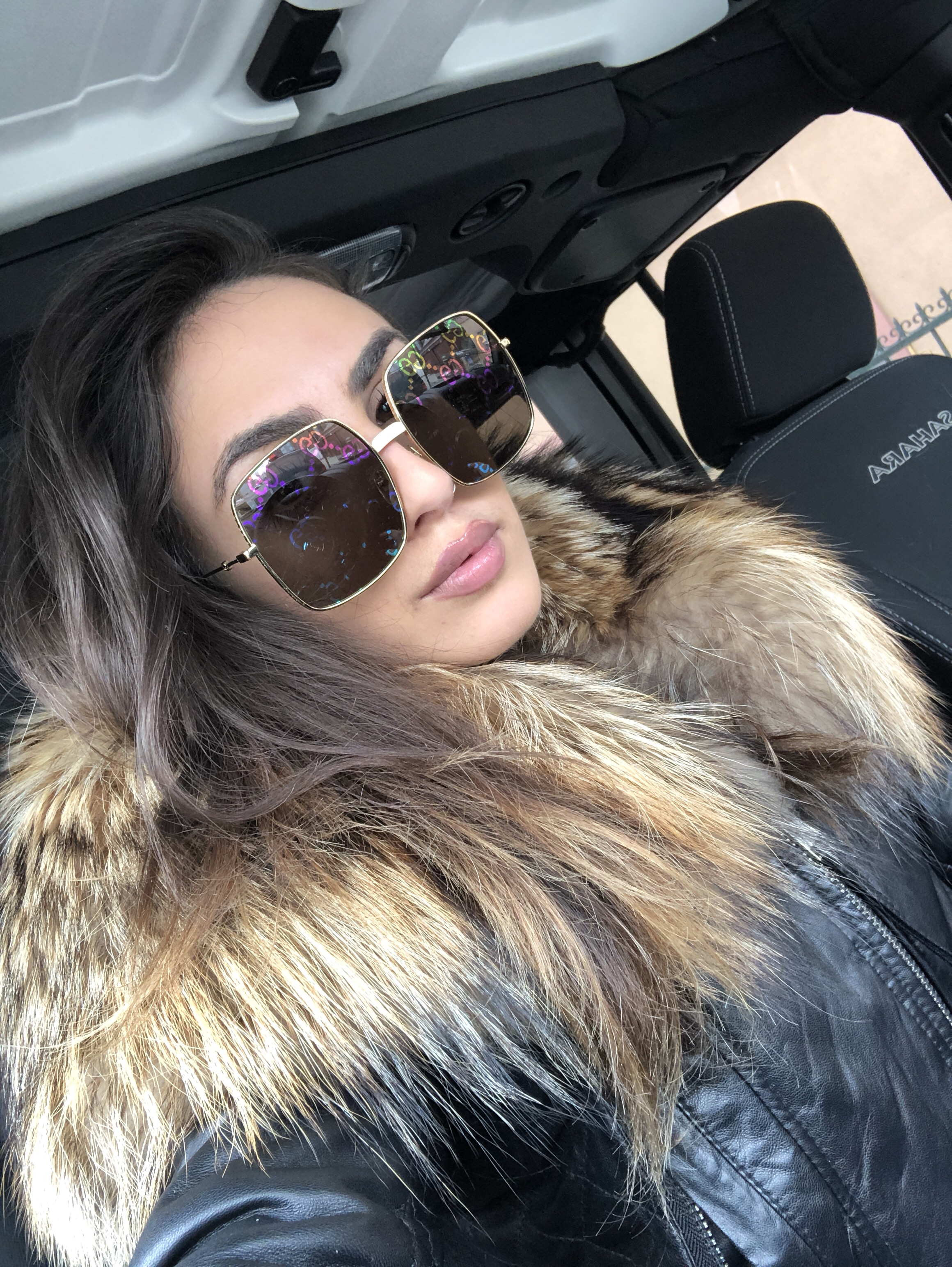 8ebe5dee3a537 Gucci 0414S Rainbow Mirrored Lens Oversized Sunglasses (3 Colors) —  Designer Daydream