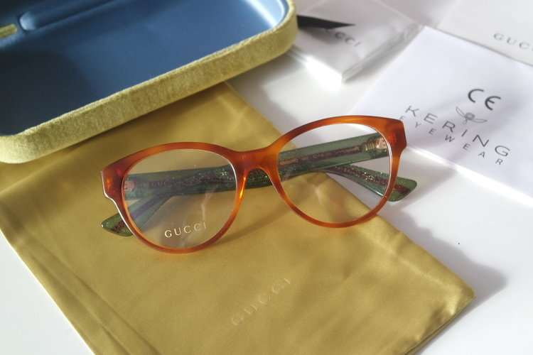 077acf575f4 Gucci 0039O Rounded Cat Eye Eyeglasses Frames (3 Colors) ...
