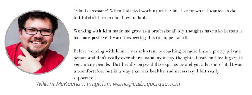 Kim Argetsinger coaching testimonial