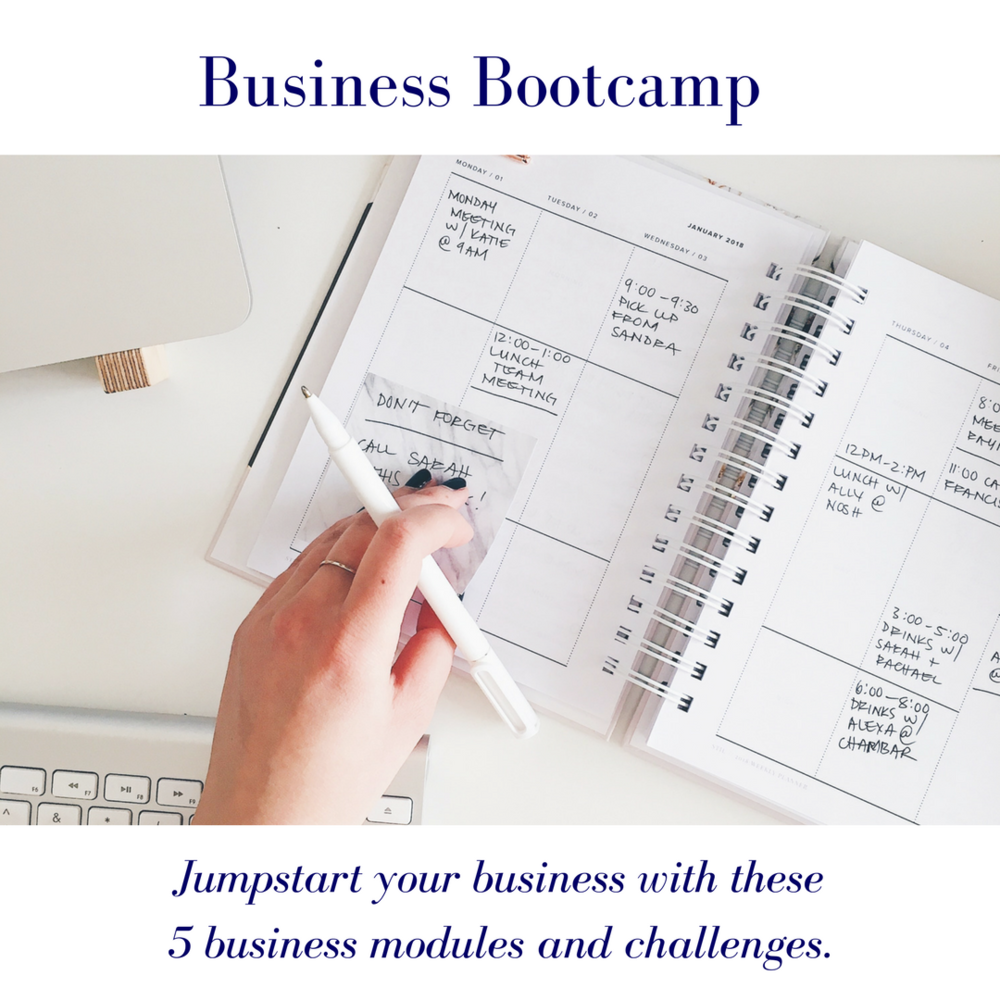 business bootcamp modules