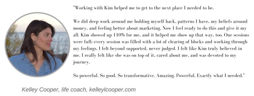Kim Argetsinger client testimonial