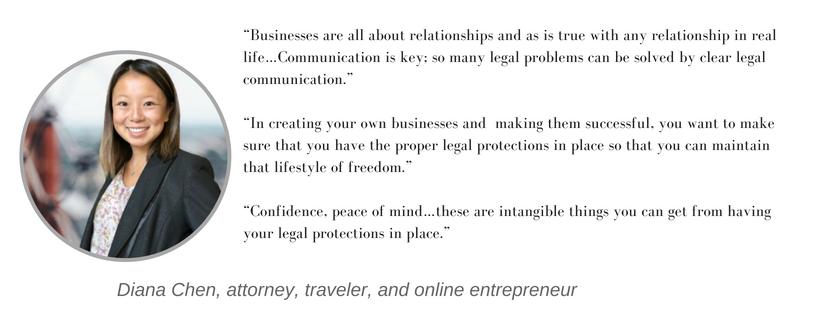 entrepreneur attorney interview