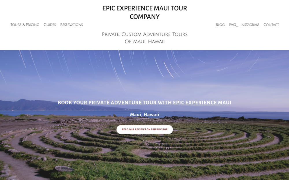 6aed3edc6f Maui Website Design   Marketing By Pueo Creations-Let the unexpected ...