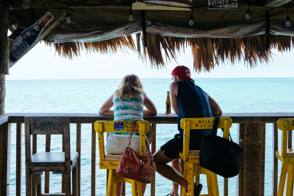 Ocean views at Tiki Maya Bar