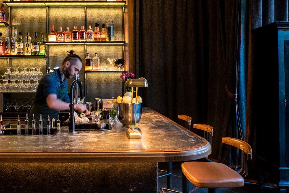 Cocktail bar at Sumac