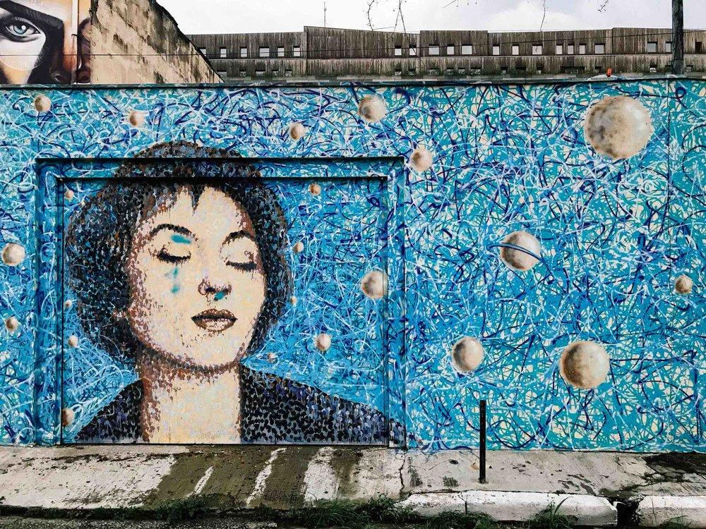 Street art in Vila Madalena