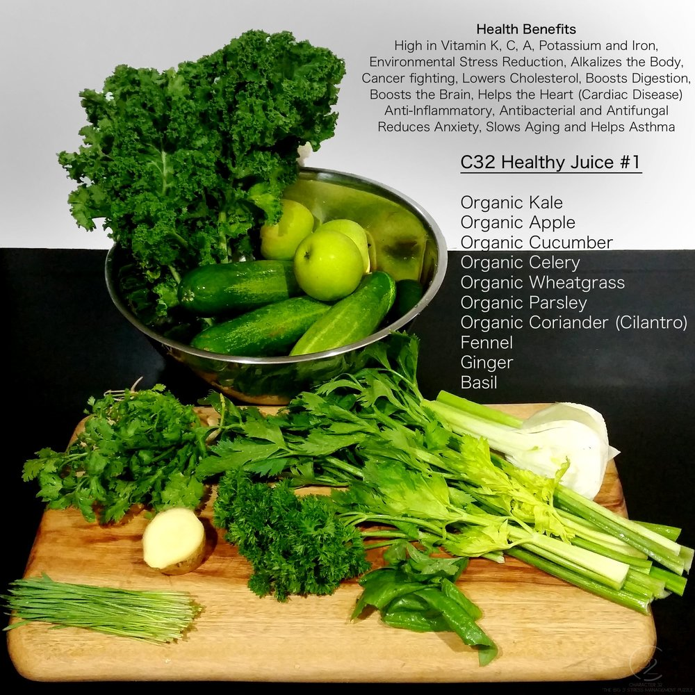 c32-healthy-juice-1-juices-for-healthy-living-character-32-c32-stress-management-kale-apple-cucumber-celery-wheatgrass-parsley-cilantro-fennel-ginger-basil