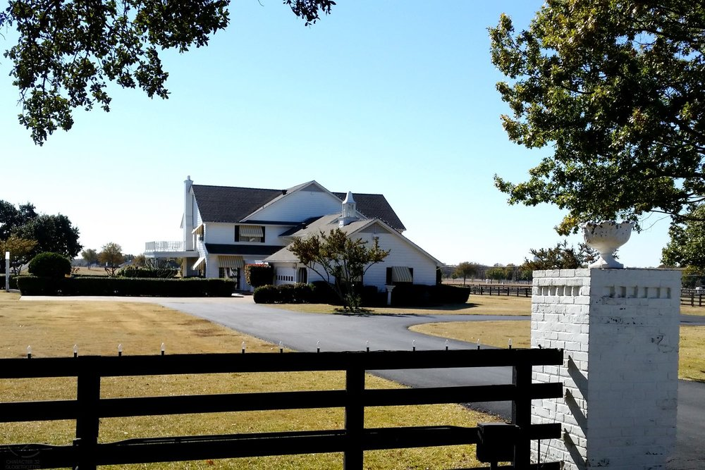 Dallas and southfork ranch character 32 for Southfork ranch house plans