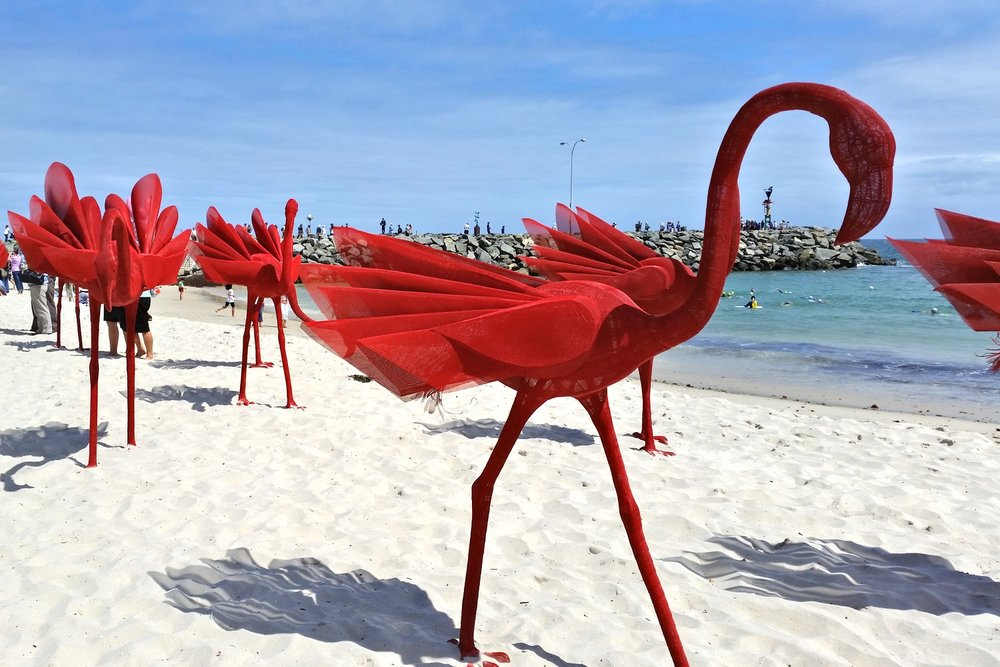 sculpture-by-the-sea-cottesloe-character-32-red-birds