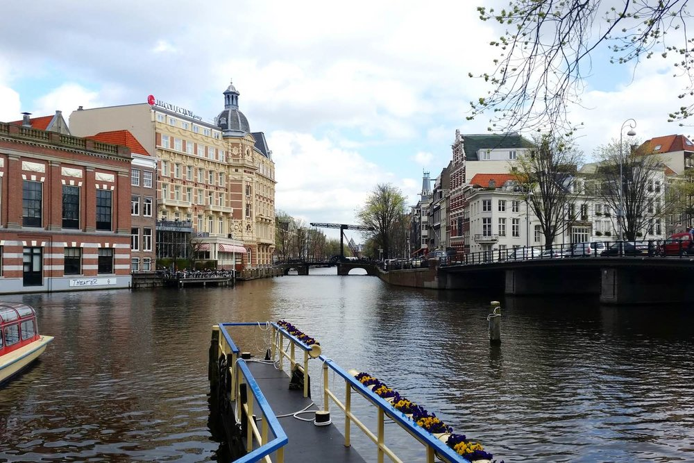 Eating organic, experience culture, & visit museums in Amsterdam