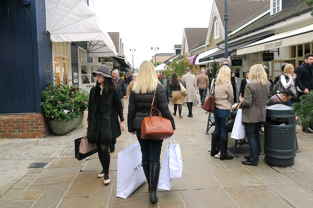 Designer Shopping at a Fraction of the Cost at Bicester Village London