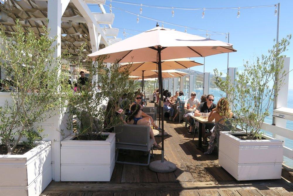 Eating in California at Malibu Farm Café - Restaurant on the Pier