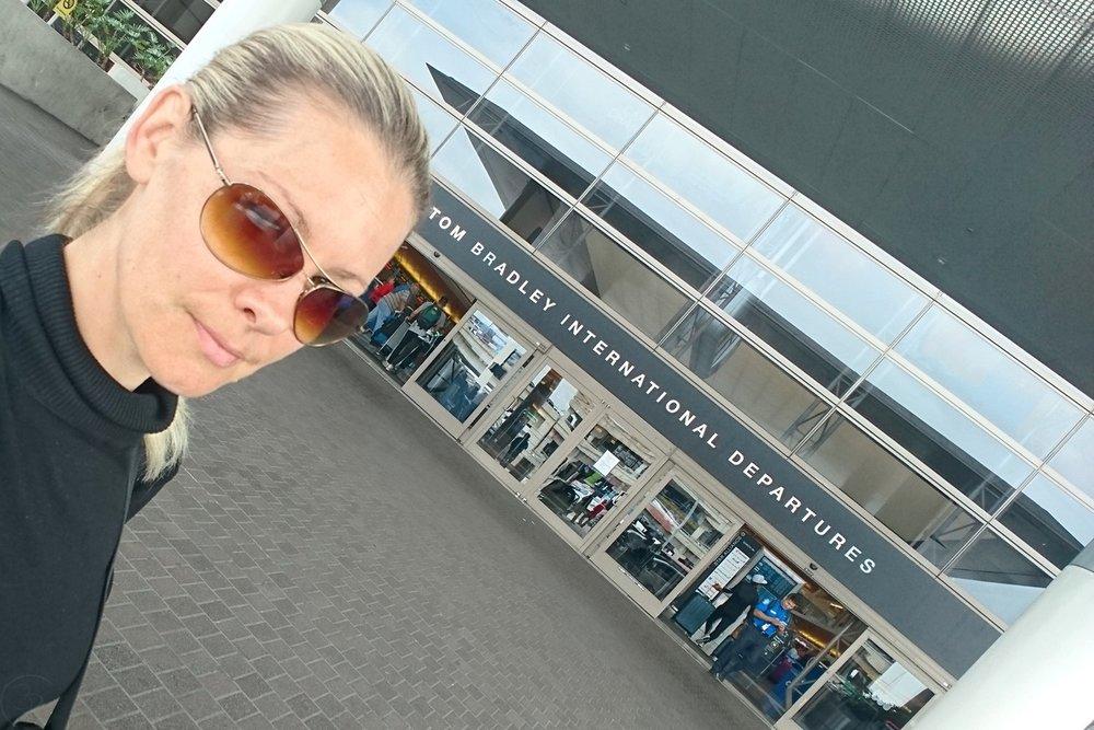 New Upgraded Tom Bradley International Terminal at LAX Airport