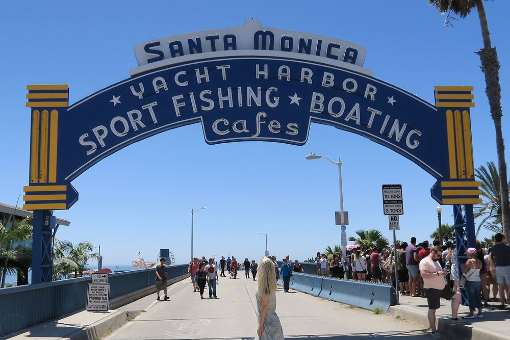 Things to See and Do at Santa Monica Pier in Los Angeles California