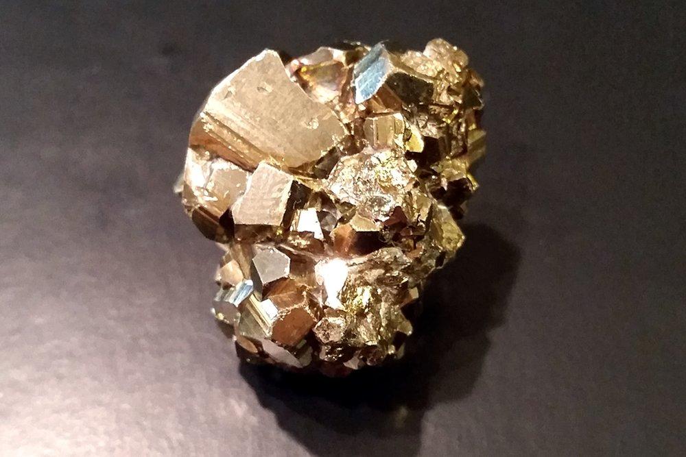 My Pyrite On My Desk