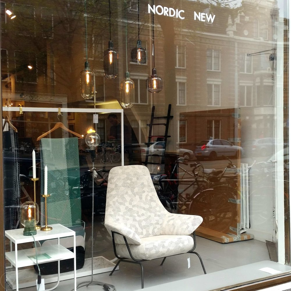 The Nordic New Modern Occasional Chairs with a Funky Edge