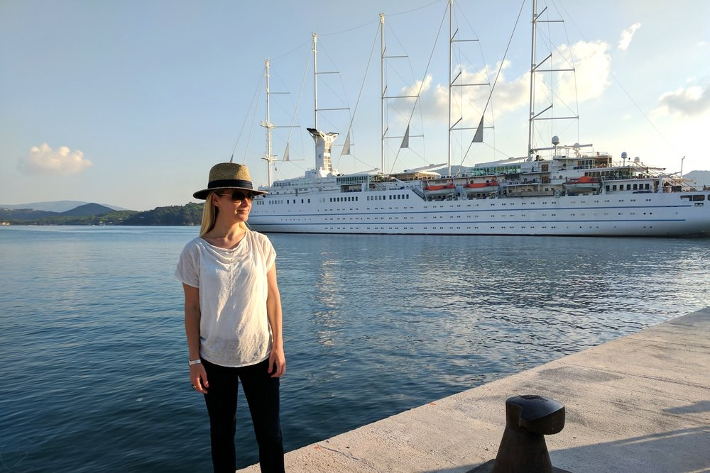 Wind Surf Luxury Yacht with Windstar Cruises Reviewed