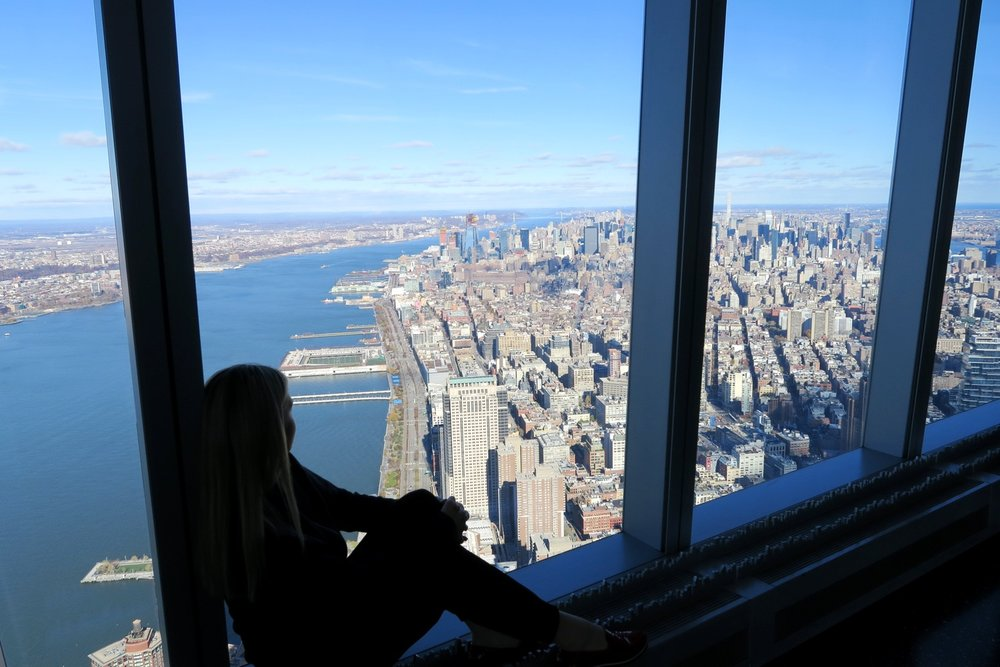 See the Incredible Views from One World Trade Center at One World Observatory