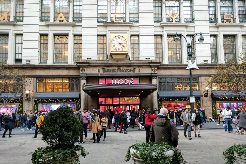 New York Clothing Stores in Midtown Manhattan