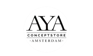 AYA   Haarlemmerdijk 119B Amsterdam 1013 KE www.ayaconceptstore.com