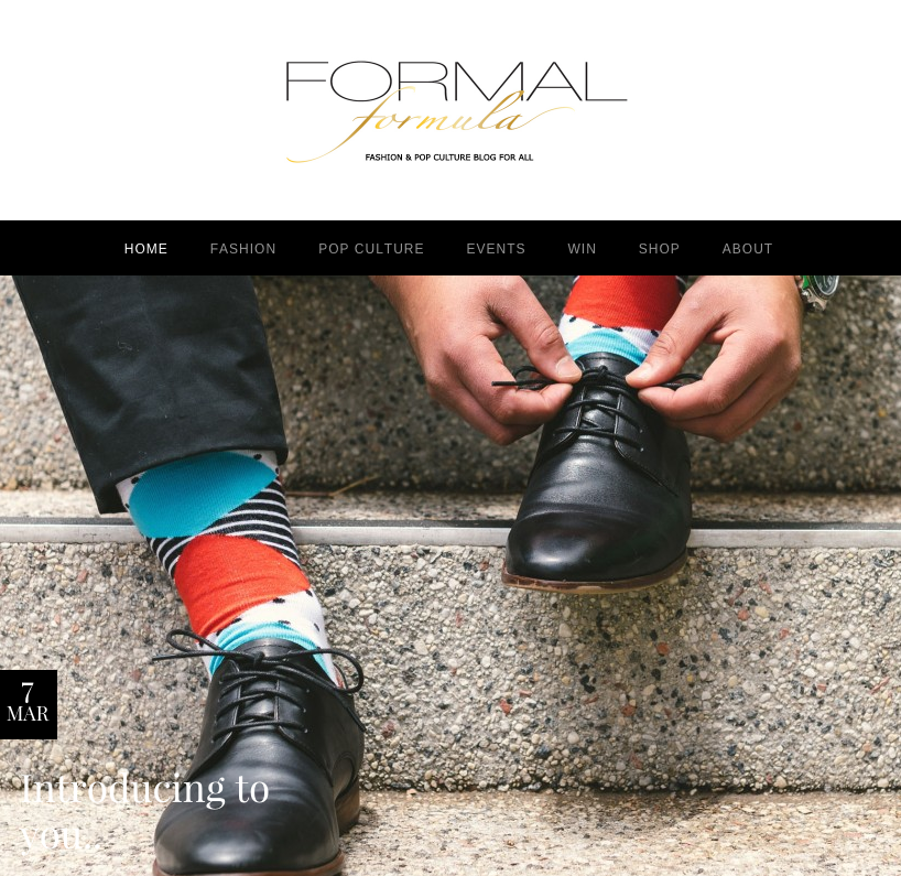 Photo captured from formalformula.com