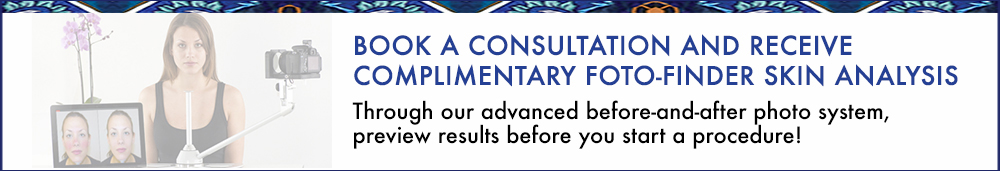 Book a consultation and receive complimentary Foto-Finder Skin Analysis