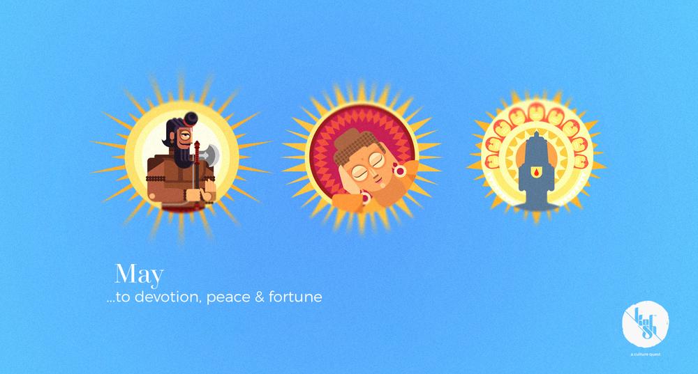 ...to devotion, peace & fortune