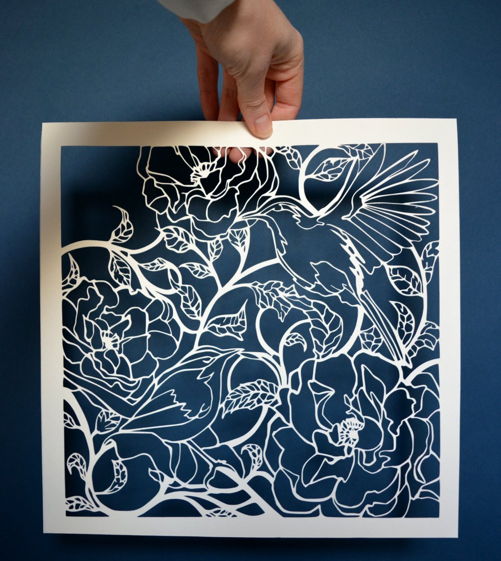 The Art of Paper Cutting weekend workshops are back in the Crescent Arts Centre this term. The two weekends are Feb 10th & 11th and March 24th & 25th from 10am - 12pm each day. Book February dates:  http://bit.ly/2Dx3iTX  Book March dates:  http://bit.ly/2GdifMO